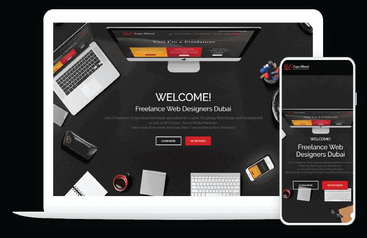 Freelance Web Designer Dubai